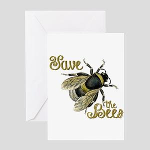 Save Bees Greeting Card