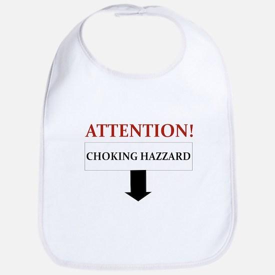 ATTENTION CHOKING HAZZARD Bib