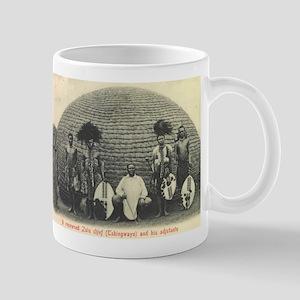 Native Zulu Chief Mug