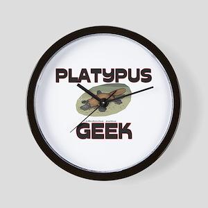 Platypus Geek Wall Clock
