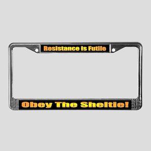 Shetland Sheepdog License Plate Frame