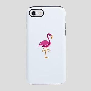 Flamingo Shirt Majestically iPhone 8/7 Tough Case