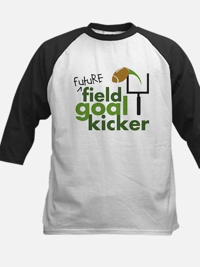 Future Field Goal Kicker Kids Baseball Jersey