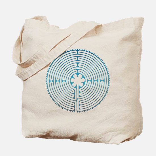 Chartre Labyrinth Tote Bag