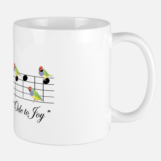 Joy of Gouldian Finches Morning Coffee Mug