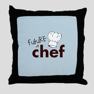 Future Chef Throw Pillow