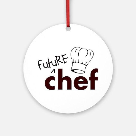 Future Chef Ornament (Round)