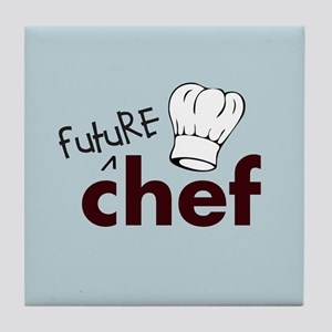 Future Chef Tile Coaster