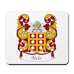 Melo Family Crest Mousepad