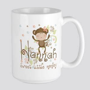Adorable Hannah Monkey Large Mug