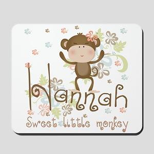 Adorable Hannah Monkey Mousepad