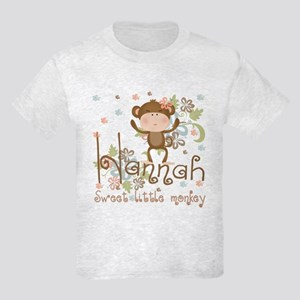 Adorable Hannah Monkey Kids Light T-Shirt