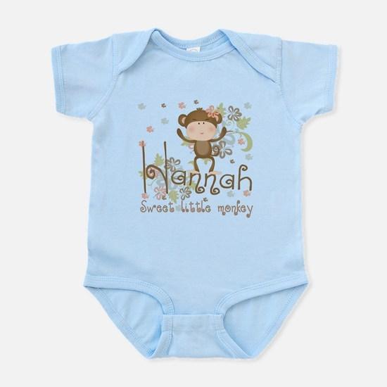 Adorable Hannah Monkey Infant Bodysuit