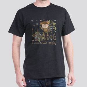 Adorable Hannah Monkey Dark T-Shirt
