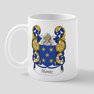 Moniz Family Crest Mug
