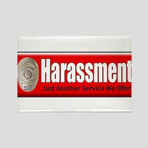 Harassment Rectangle Magnet