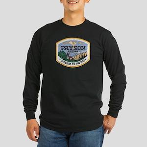Payson Arizona Long Sleeve Dark T-Shirt