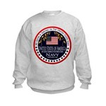 Navy Sister Kids Sweatshirt