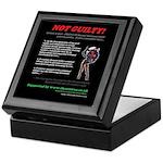 Article 6 Not Guilty Keepsake Box