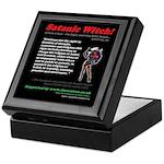 Article 9 Satanic Witch Keepsake Box