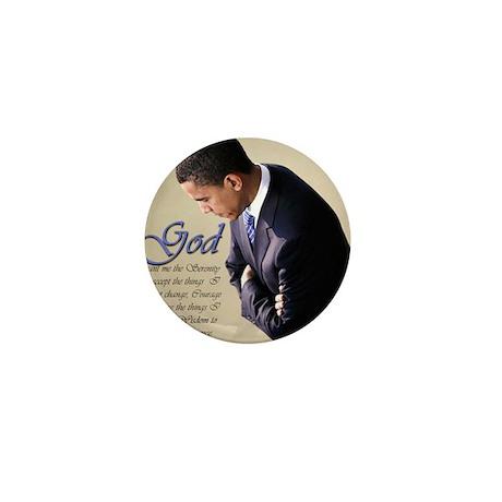Obama Praying Mini Button (100 pack)