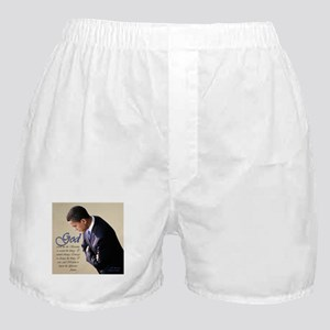 Obama Praying Boxer Shorts