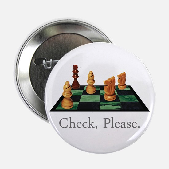 """Check Please 2.25"""" Button (10 pack)"""