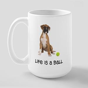 Boxer Life Large Mug