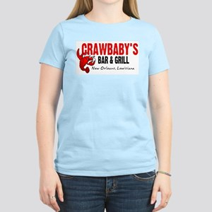 Crawbaby's Bar & Grill Ash Grey T-Shirt