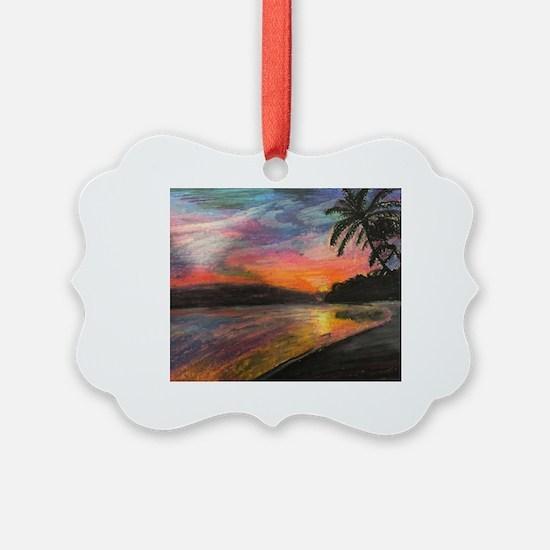 Unique Beach Ornament