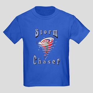 Storm Chaser 3 Kids Dark T-Shirt