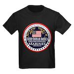 Marine Corps Uncle Kids Dark T-Shirt