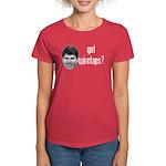 Blagojevich Got Wiretaps Women's Dark T-Shirt