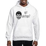 Blagojevich Got Wiretaps Hooded Sweatshirt
