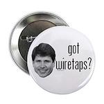 """Blagojevich Got Wiretaps 2.25"""" Button (10 pac"""