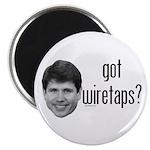 """Blagojevich Got Wiretaps 2.25"""" Magnet (10 pac"""