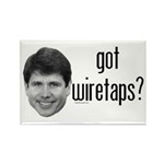 Blagojevich Got Wiretaps Rectangle Magnet (10 pack