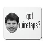 Blagojevich Got Wiretaps Mousepad