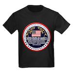 Coast Guard Uncle Kids Dark T-Shirt