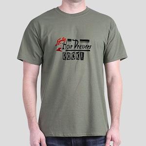 Hair Dressers Rock Dark T-Shirt