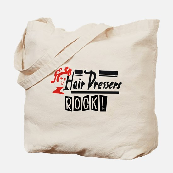 Hair Dressers Rock Tote Bag