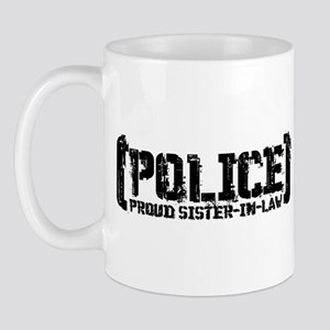 Police Proud Sister-in-law Mug