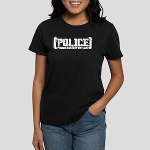 Police Proud Sister-in-law Women's Dark T-Shirt