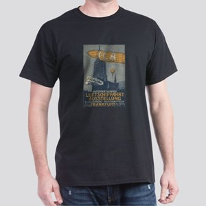Frankfurt 1909 air show Dark T-Shirt