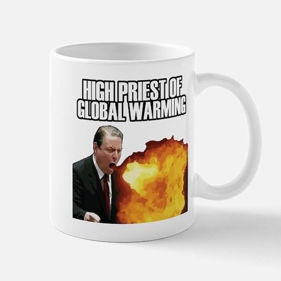 High Priest of Global Warming Mug