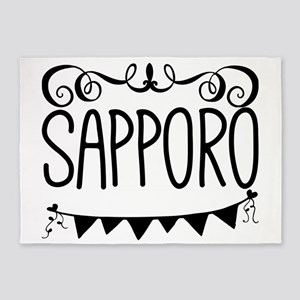 Sapporo 5'x7'Area Rug