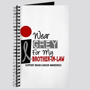 I Wear Grey For My Brother-In-Law 9 Journal