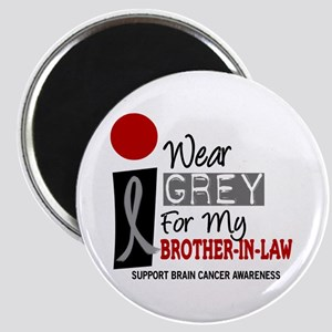 I Wear Grey For My Brother-In-Law 9 Magnet