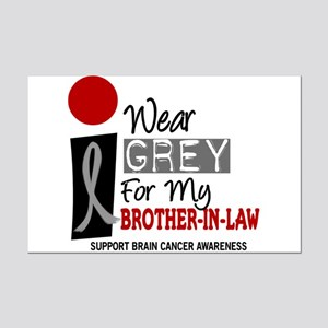 I Wear Grey For My Brother-In-Law 9 Mini Poster Pr