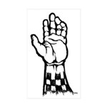 Two Tone Unite Rectangle Sticker 10 pk)